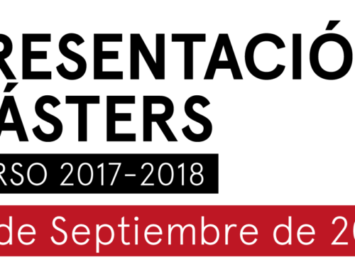 Presentación Másters y Postgrados 2017 – 2018